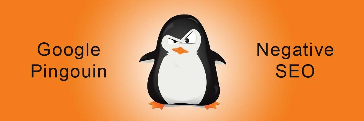 Google pingouin et negative SEO